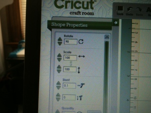 how to rotate image in the Cricut Craft Room