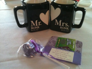 Ronk Wedding Favors