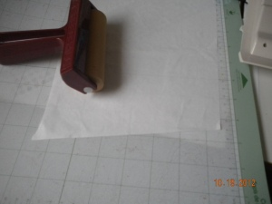 cutting freezer paper with the cricut