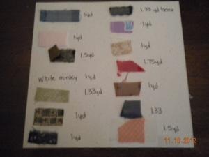 fabric measurement