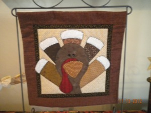 thanksgiving turkey quilt