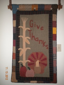 Give Thanks Button Up Quilt