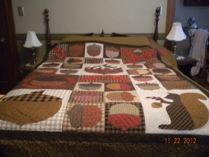 Need'l Love fall quilt