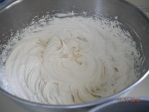 cream cheese and sugar