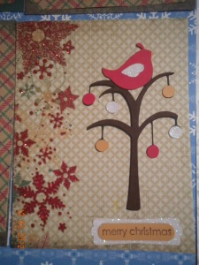 Christmas Cricut Card
