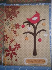 Christmas Cricut Card