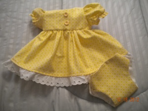 Bitty baby doll dress