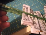 adding the folded bills
