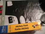 Mickey Font Cricut