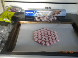 peppermint tray