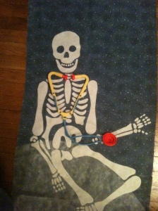 skelton quilt...second draft