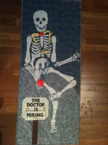 skelton quilt final product