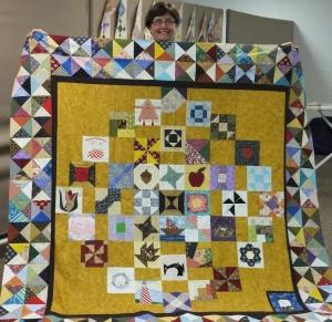 Diane's signature quilt