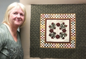 Sherry's mini quilt