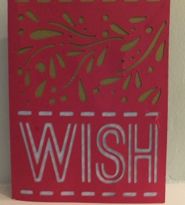 Cricut Simple Cards Wish