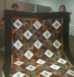 Diane's Hummel quilt