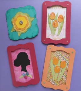 Mother's Day and Flower Cricut Cards