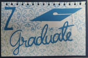 Cricut gradutaion card