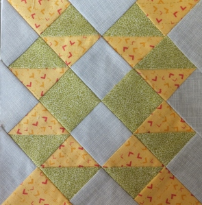Farmer's Wife Quilt #13 Buckwheat
