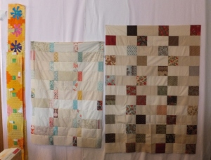 Candy bar / Charm square quilt