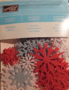 Stampin Up snowflakes