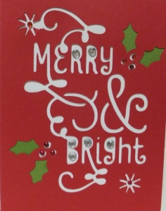 Cricut Christmas Holiday Card #25