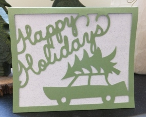 Cricut Christmas Holiday Card #50