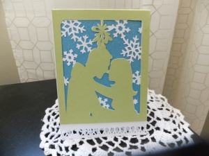 Cricut Christmas Holiday Card #22