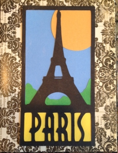 Cricut Destinations Paris Card