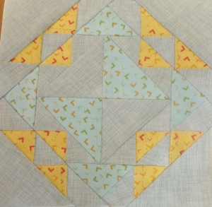 Farmer's Wife Quilt #22 Corn and Beans