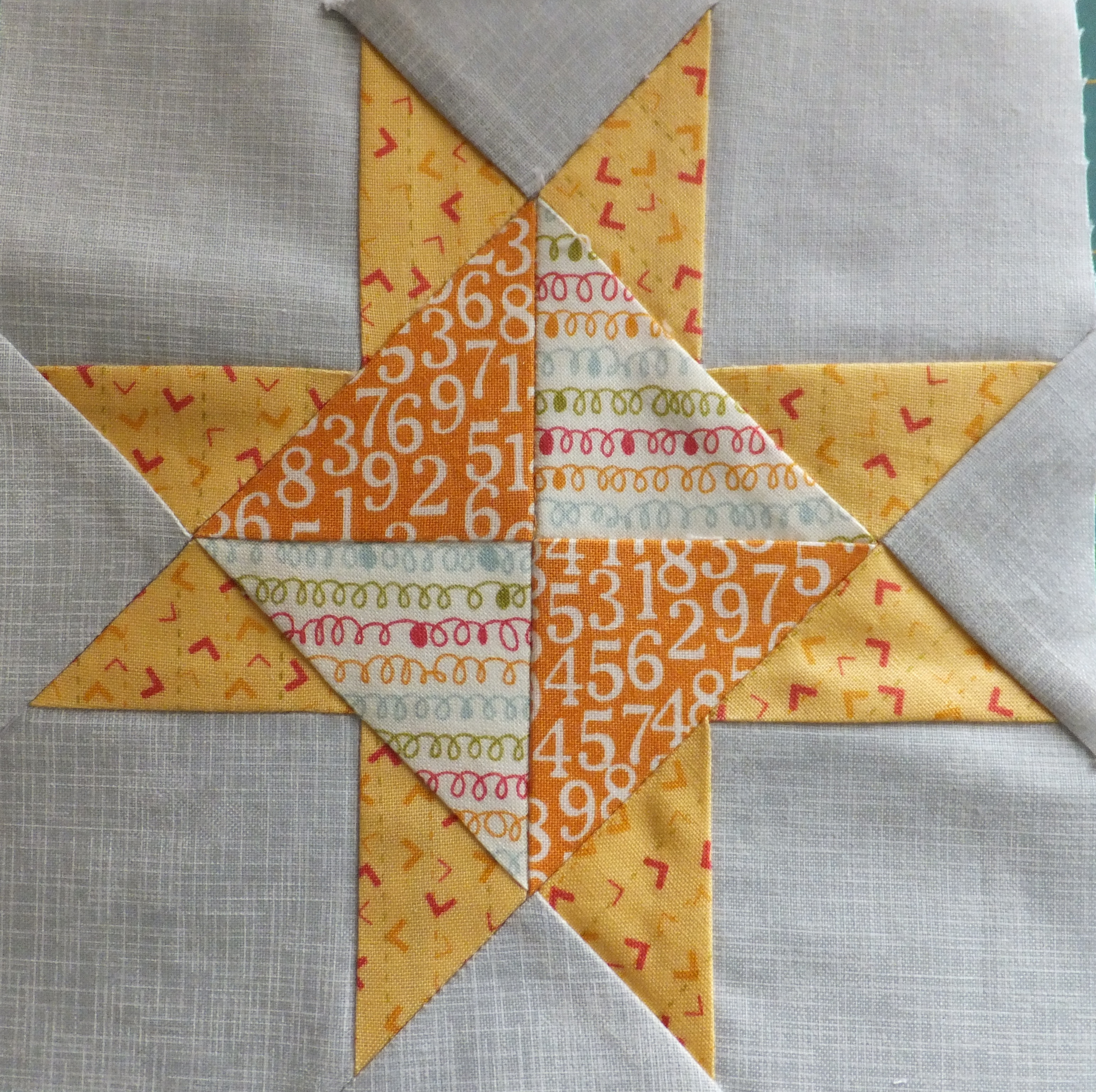 Farmer's Wife Quilt – Blocks #22 and #23 – Corn & Beans and