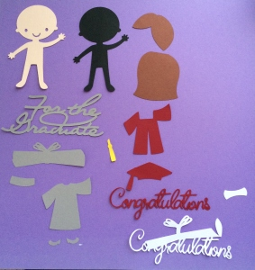 Create a Friend Cricut Gradutaion Card