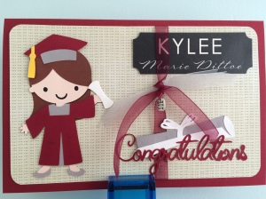 Creat a Friend Cricut Cartridge Gradution Card
